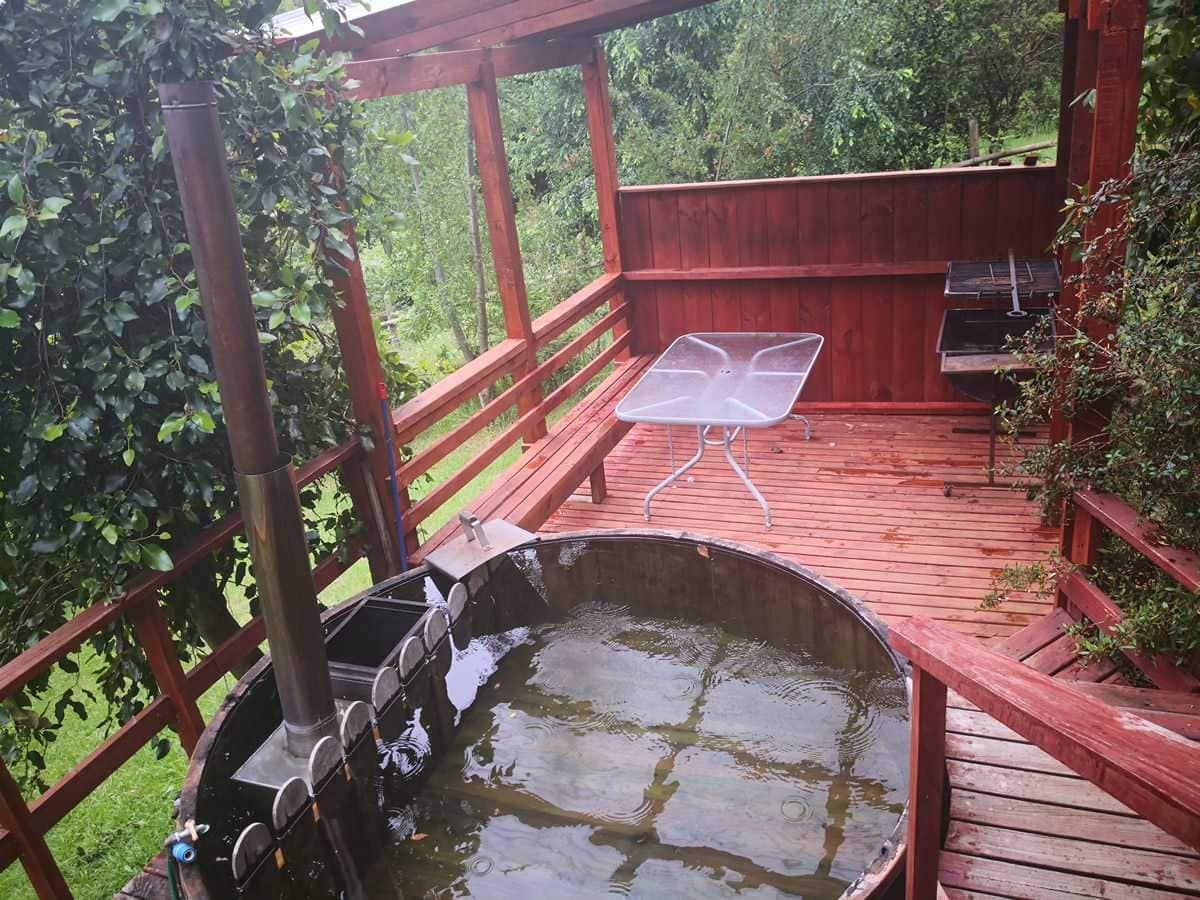 Hot-tub - Quincho Cabaña Oregón Coñaripe